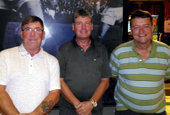 Kenny Cleckner, Frank Grainger and Mark Jennings.