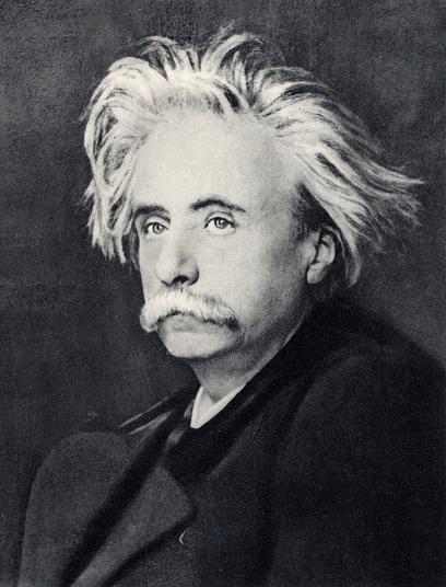 Composer Edvard Grieg on a bad hair day.