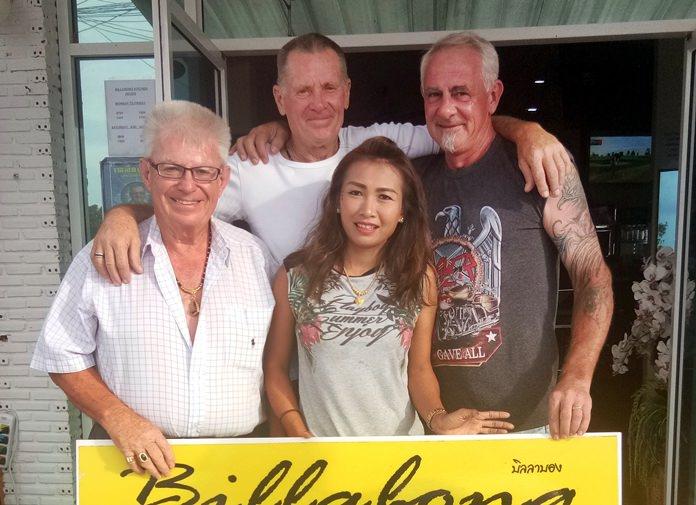Brian Orr, George Way, Sasicha and Sandy Chapo.