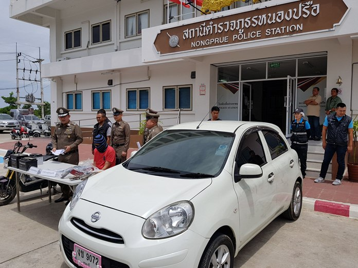 Prawit Kitfaruwankul has been arrested for grand theft auto as well as theft of eight car batteries.