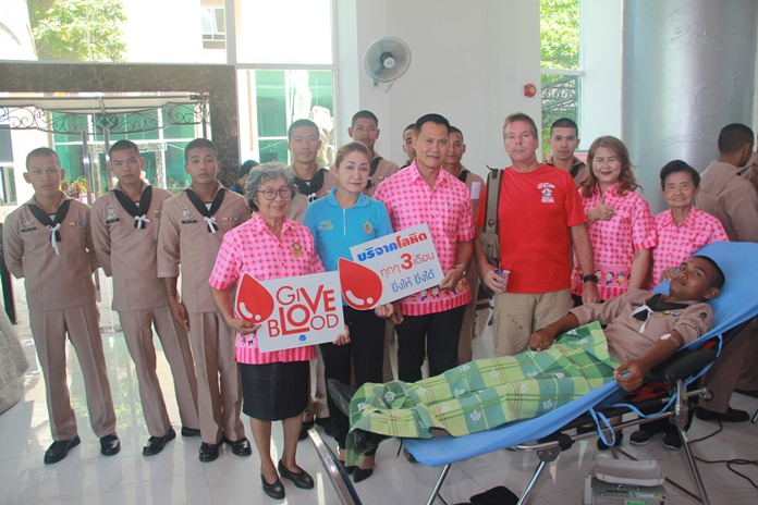 The Rotary Club Mitraparp-Sattahip joined Blue Sky Development Group for a blood drive for local hospitals.