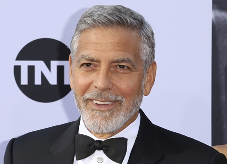 George Clooney. (Photo by Willy Sanjuan/Invision/AP)