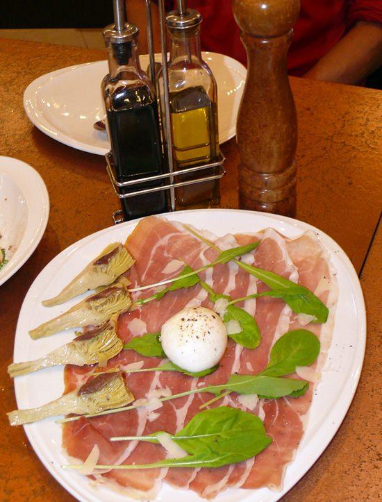 An Italian Antipasto.
