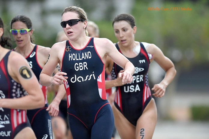 Britain's Vicky Holland