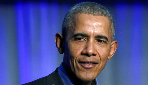 In this Dec. 5, 2017, file photo, former President Barack Obama speaks in Chicago. Obama is stepping into the midterm battle. Ahead of his first campaign events of the midterm elections, Obama is set to speak Friday as he accepts an ethics in government award in Illinois. (AP Photo/Charles Rex Arbogast, File)