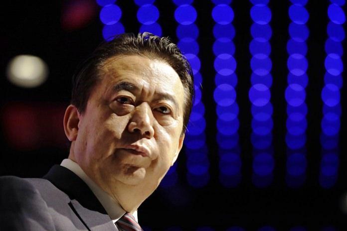 Interpol President, Meng Hongwei is shown in this July 4, 2017 file photo. (AP Photo/Wong Maye-E)