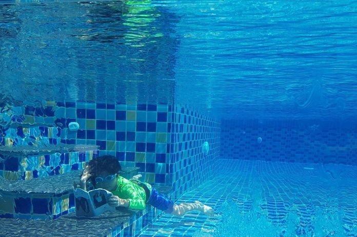 Underwater reading was quite an achievement!
