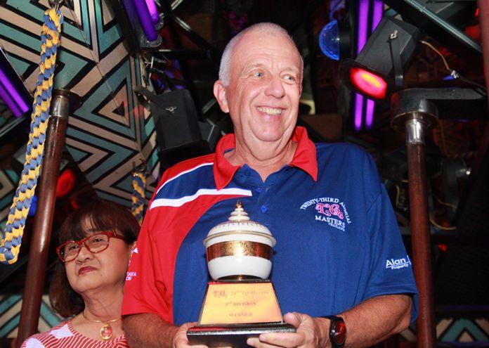 C Flight winner Pierre Zbinden.