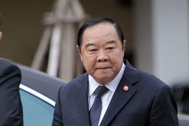 Deputy Prime Minister Gen Prawit Wongsuwan.
