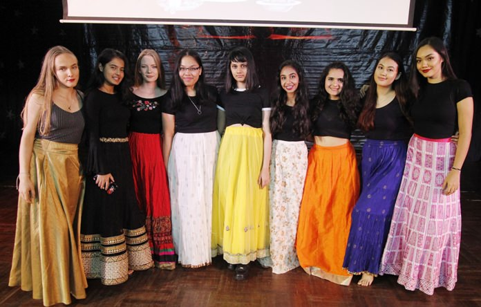 Many IB Diploma students took part in the celebrations.
