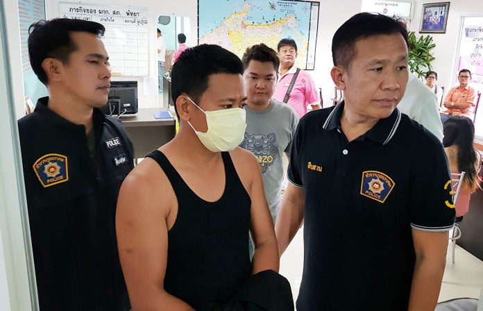 Wichan Payakkul was arrested for allegedly burglarizing a Chinese tourist's apartment.