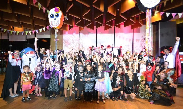 Loads of ghoulish fun at the Royal Cliff Halloween party.