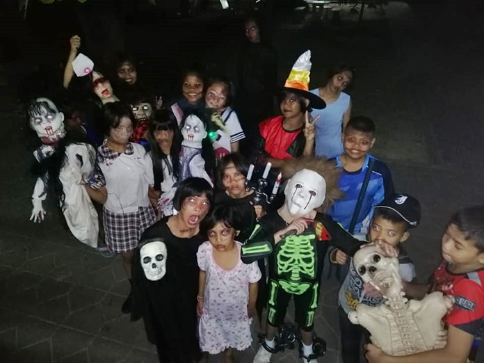 These kids gave us nightmares at Ban Euaree.