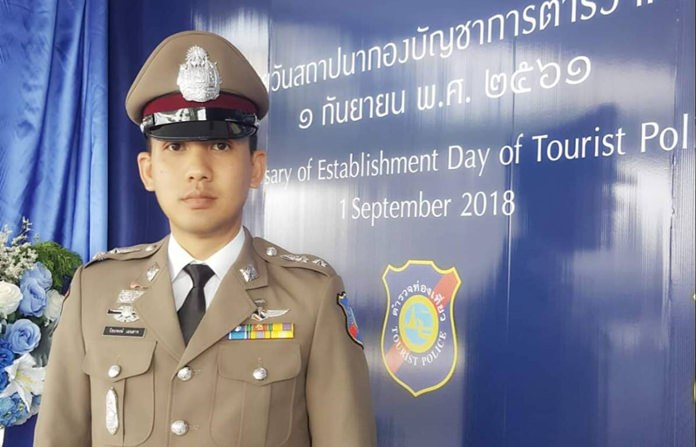Tourist Police Division Commander Pol. Lt. Col. Piyapong Ensarn said tourist police have erected banners in Chinese and English to improve safety of swimmers and boat passengers.
