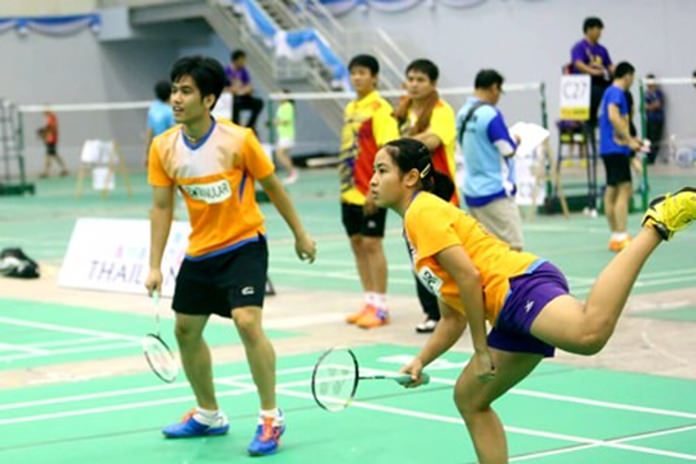 The 8th Astec Pattaya Badminton Sawasdee Cup will take place from Nov 30 – Dec 2 at the Eastern National Sports Training Center in Pattaya.