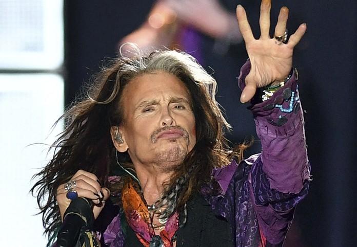 Aerosmith's Steve Tyler. (AP Photo)