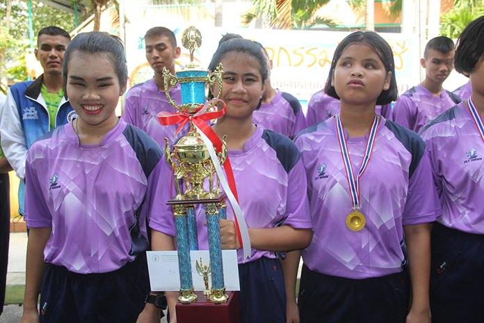 Blue team - runners-up.