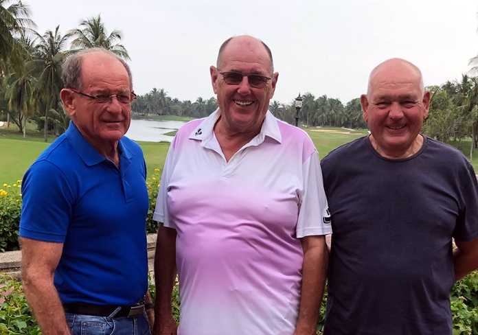 (From left) Paddy Devereux, Stan Rees and Paul Davies.