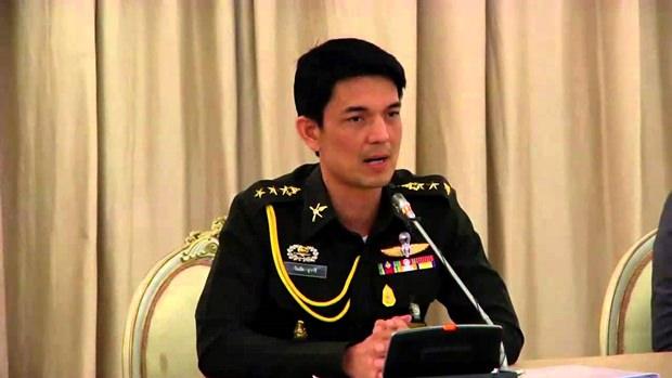 Army Spokesman Col Winthai Suwaree.