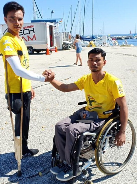 2018 Para-sailing World Champions; in their first ever competition.