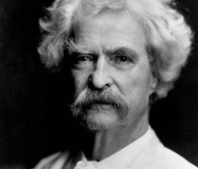 Mark Twain c. 1890.
