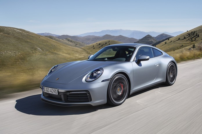 This undated photo shows the new Porsche 911 Carrera 4S. (Porsche via AP)