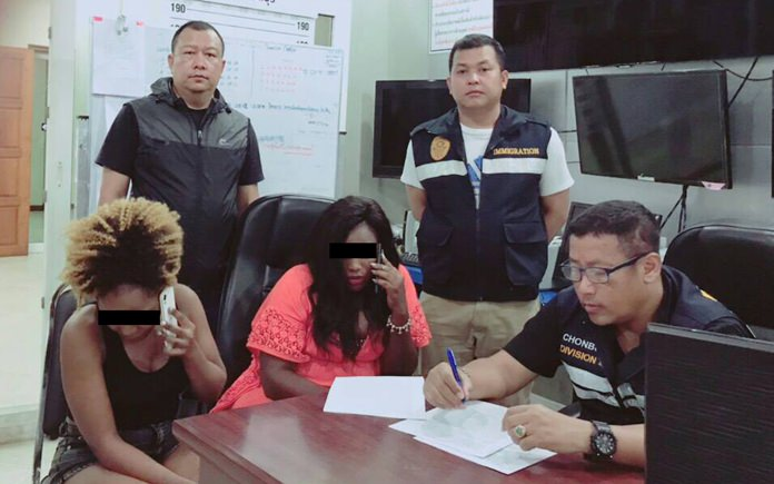 Glory Nasaazi, 39, and Shamim Nai'ga, 33, were accused of working as prostitutes and arrested.