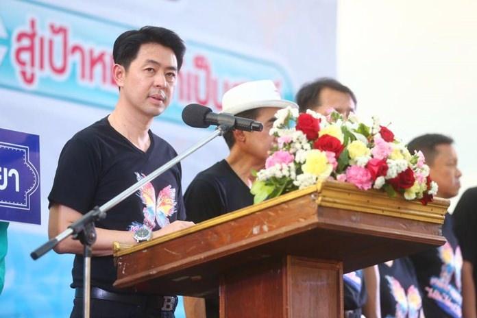 Deputy Mayor Poramet Ngampichet opened the Dec. 1 event