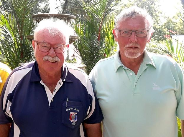 Arne Pedersen (right) with Dave Richardson.