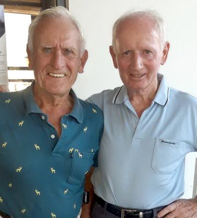 Ted Morris (left) & Joe McArdle.