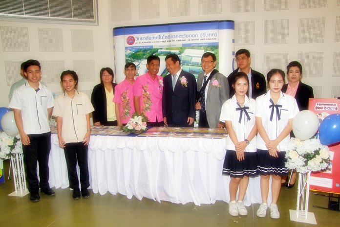 The Amata City Industrial Estate opened a vocational training institute with the help of Kasetsart University to develop skilled workers for the Eastern Economic Corridor.