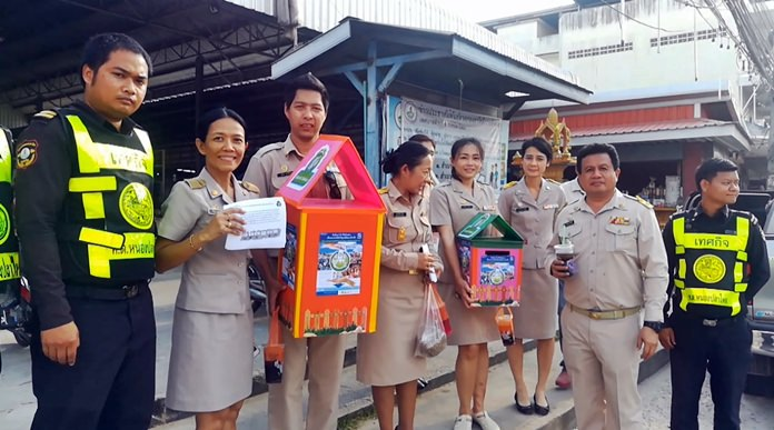 Nong Plalai is asking residents to donate their old mobile phones to raise money to buy children's books.