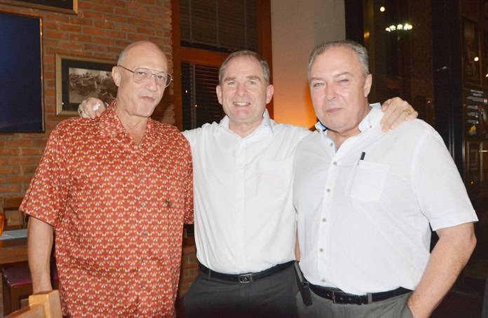 Veteran hoteliers Philippe Delaloye, Rob Rijnders and Rene Pisters have more than 100 years of hotel experience between them.