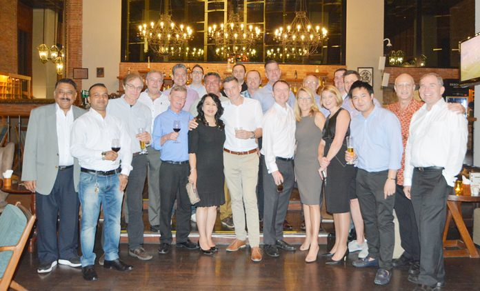 A big thank you from all of us to Kate Gerits for hosting a wonderful GM Networking evening in the Havana Bar & Terrazzo Restaurant at the Holiday Inn Pattaya.