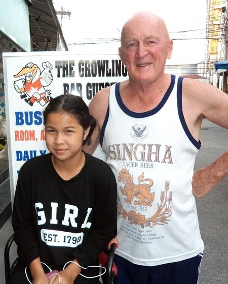 Mark Stapleton & Gau (Mark's partner's daughter).