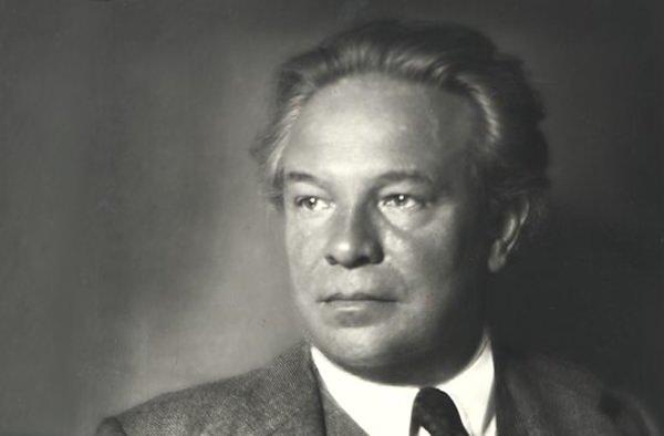 Composer Ottorino Respighi.