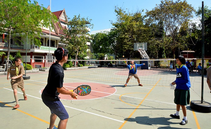 Pattaya tennis players and charity groups came together to give disabled and disadvantaged children a day of fun, games and exercise.