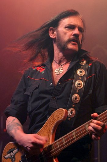 "Motorhead's iconic frontman - Ian ""Lemmy"" Kilmister."