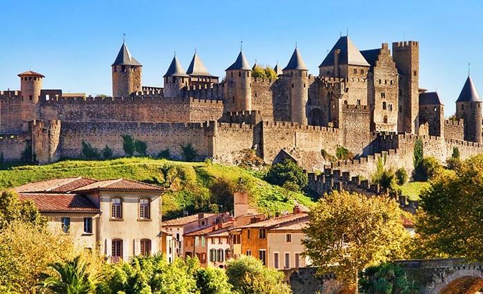 Carcassonne town.