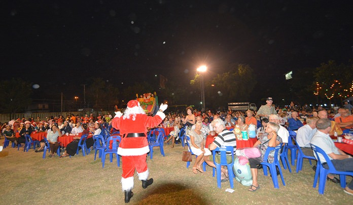 Some 500 people turned up for the annual Pattaya Orphanage Christmas fundraiser.