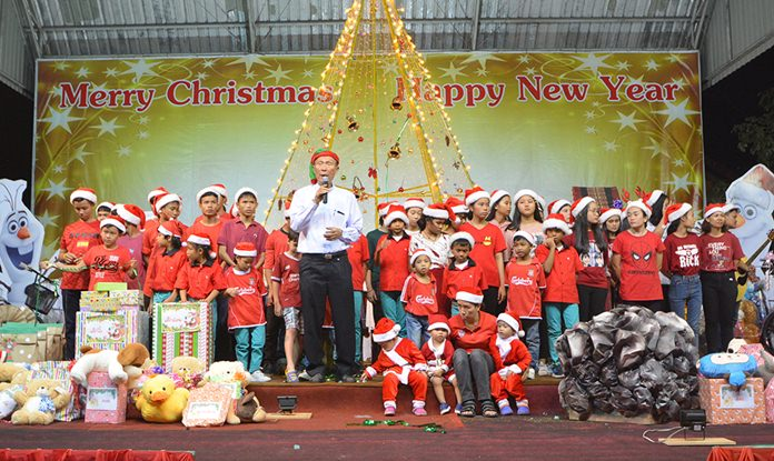 Orphanage Director Rev. Weera Pangrak wishes a Merry Christmas to one and all.
