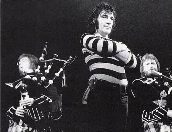 Alex Harvey is shown in this undated photo.