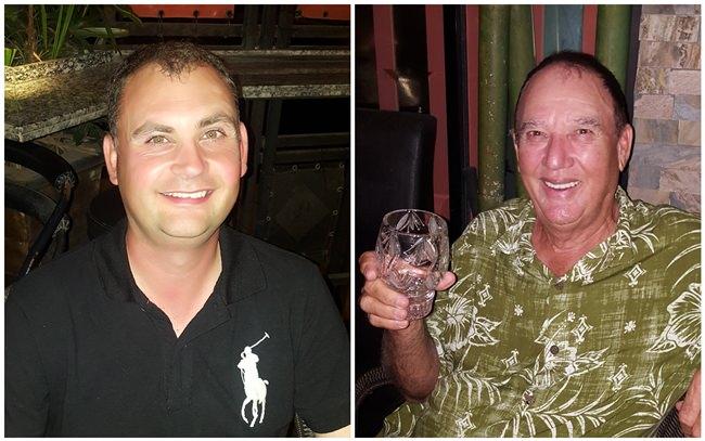 Phil Mashiter & Jimmy Carr.