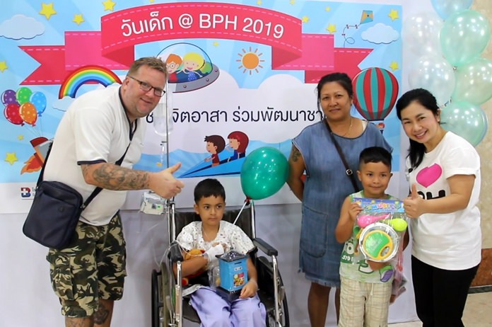 At Bangkok Hospital Pattaya, young patients get the treats with both sick and healthy kids enjoying games, painting, arts and crafts, and snacks.