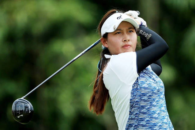 Teenager Atthaya Thitikul is one of three Thai players to receive an invitation to play in the Honda LPGA Thailand 2019 tournament.