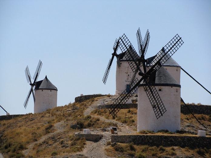 La Mancha windmills.