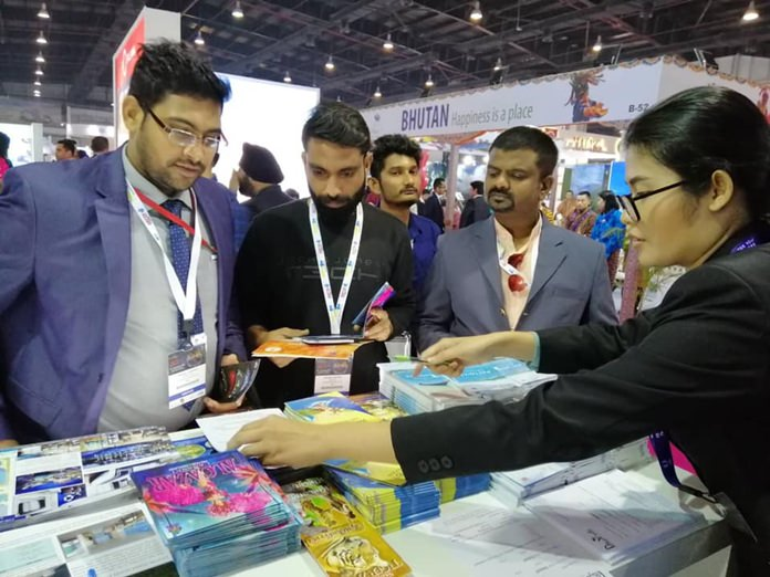 Thai tourism officials introduce their Indian counterparts to Pattaya at South Asia's largest business-to-business travel and tourism show in New Delhi.
