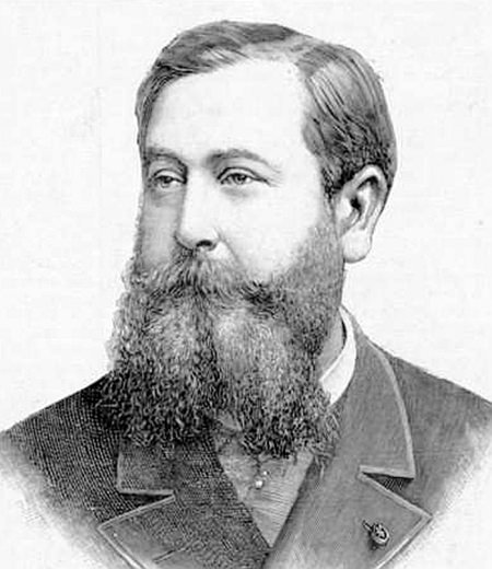 Léo Delibes in 1891.