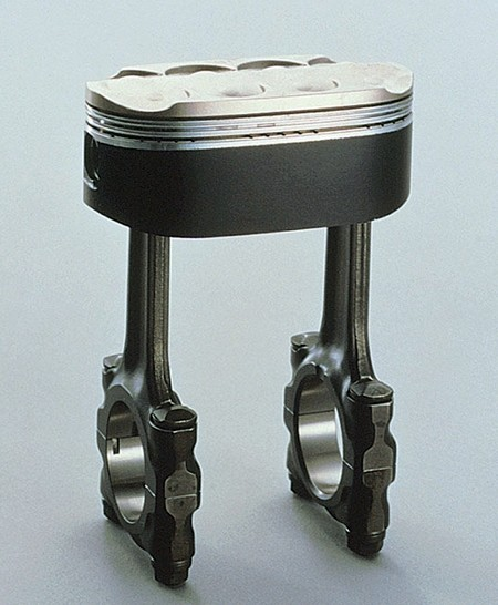 A very different piston.