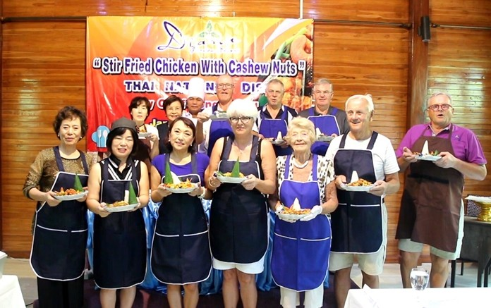 The Diana Garden Resort introduced tourists to Thai culture through its food by offering lessons in cooking a signature dish.